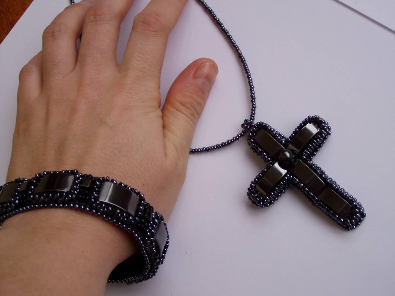 Браслет своими руками с крестом 308